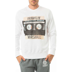 Vêtements Homme Sweats Franklin & Marshall Sweat Franklin And Marshall Blanc Blanc
