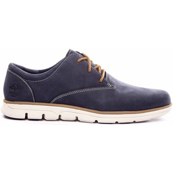Chaussures Homme Derbies Timberland BASKET BRADSTREET BLUE BLACK
