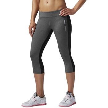 Vêtements Femme Leggings Reebok Sport Rcf Chase Capri Graphite