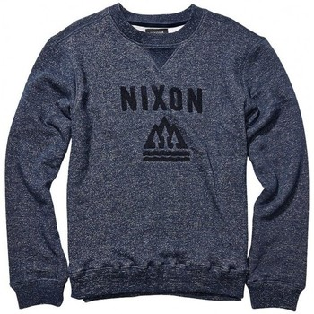 Vêtements Homme Sweats Nixon Sweat  Muir Crew - Navy Heather Bleu