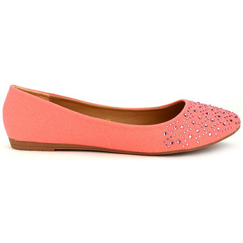 Chaussures Femme Ballerines / babies Cendriyon Ballerines Corail Chaussures Femme, Corail