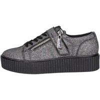 Chaussures Femme Baskets basses Fornarina PIFTI9572WJA0600 Petite Sneakers Femme Gris Gris