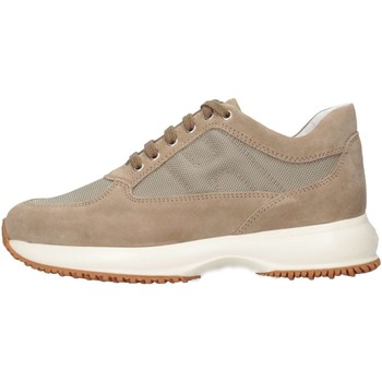 Chaussures Enfant Baskets basses Hogan Junior HXC00N00E118VV3668 Basket Bébé Beige Beige