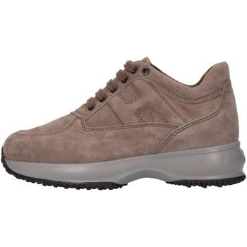 Chaussures Enfant Baskets montantes Hogan HXC00N0001ECR0C407 Basket Bébé Beige Beige