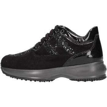 Chaussures Fille Baskets basses Hogan HXC00N002409MUB999 Basket Enfant Noir Noir
