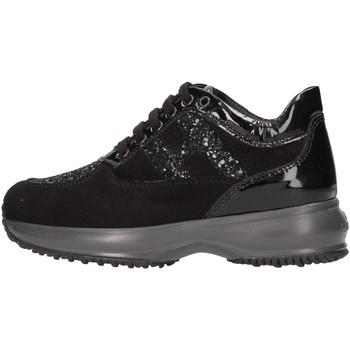 Chaussures Fille Baskets basses Hogan HXC00N002409MUB999 Noir