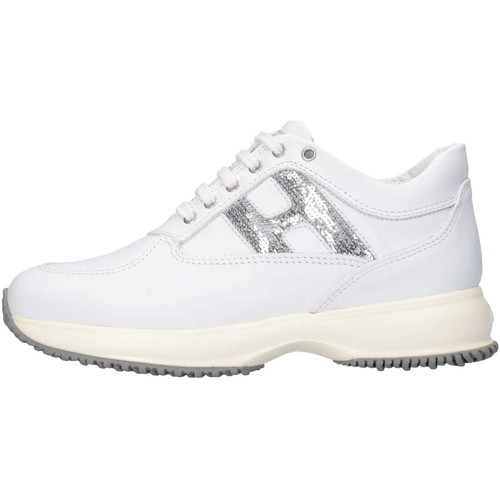 Chaussures Fille Baskets basses Hogan HXC00N00241GHL0351 Blanc