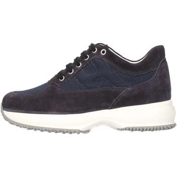 Chaussures Enfant Baskets basses Hogan HXC00N00E112Y39999 Basket Bébé Bleu Bleu