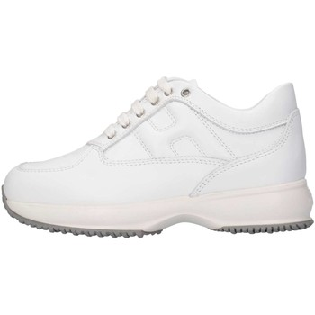 Chaussures Fille Baskets basses Hogan HXC00N00E11FH5001 Basket Enfant Blanc Blanc