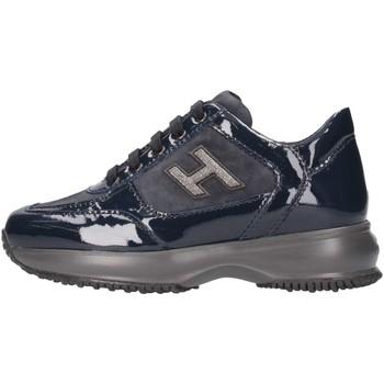 Chaussures Enfant Baskets basses Hogan HXC00N02582550U810 Basket Bébé Bleu Bleu