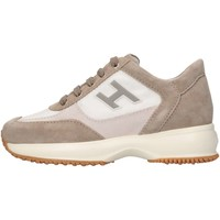 Chaussures Enfant Baskets basses Hogan Junior HXC00N032428GM612F Basket Bébé Beige Beige