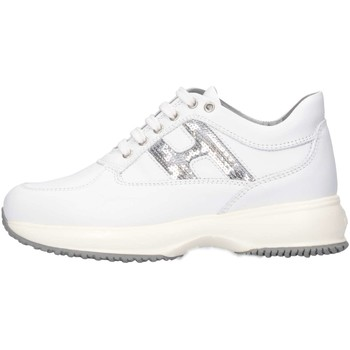 Chaussures Enfant Baskets basses Hogan Junior HXC00N0O2418GQ351 Basket Bébé Blanc Blanc