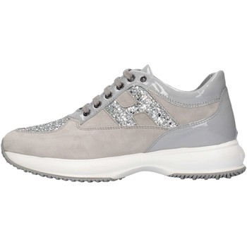 Chaussures Fille Baskets basses Hogan HXR00N002409MU0Y35 Gris