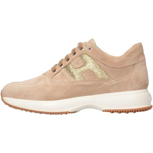 Chaussures Fille Baskets basses Hogan HXR00N00241FTY0K97 Beige