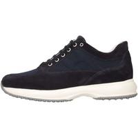 Chaussures Enfant Baskets basses Hogan HXR00N00E112Y39999 Basket Bébé Bleu Bleu