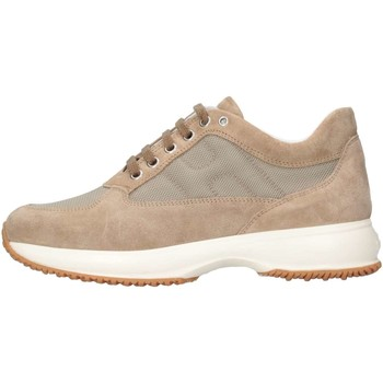 Chaussures Enfant Baskets basses Hogan Junior HXR00N00E118VV3668 Basket Bébé Beige Beige