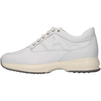 Chaussures Fille Baskets basses Hogan Junior HXR00N00E11CSR9999 Basket Enfant Blanc Blanc