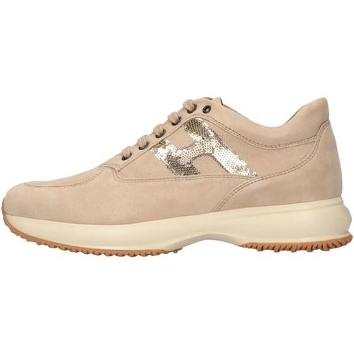 Chaussures Fille Baskets basses Hogan HXR00N041807V0C210 Doré