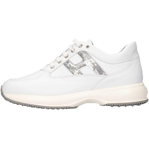Chaussures Fille Baskets basses Hogan HXR00N0O2418GQ0351 Blanc