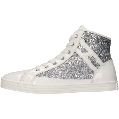 Chaussures Fille Baskets montantes Hogan Junior HXR1410I050BZ00906 Basket Enfant Multicolor