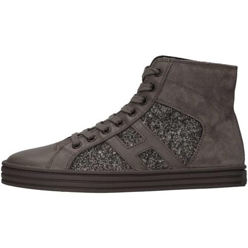 Chaussures Fille Baskets montantes Hogan HXR1410P991E1AB401 Basket Enfant Conduire Conduire