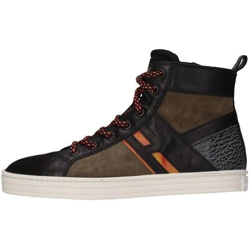 Chaussures Enfant Baskets montantes Hogan HXR1410U771E7H0XS1 Vert