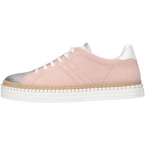 Chaussures Fille Baskets basses Hogan HXR2600U560G9D0A44 Rosa