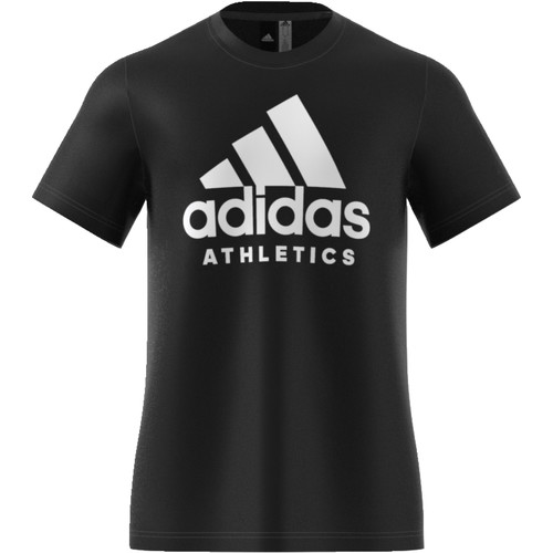 Vêtements Homme T-shirts manches courtes adidas Performance Sid Branded Tee Black