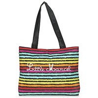 Sacs Femme Cabas / Sacs shopping Little Marcel MIRAGE Noir / Multicolore