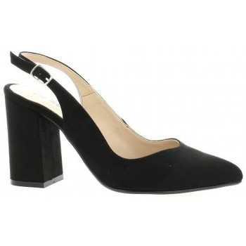 Chaussures Femme Escarpins So Send Escarpins velours Noir