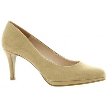 Chaussures Femme Escarpins So Send Escarpins velours Taupe