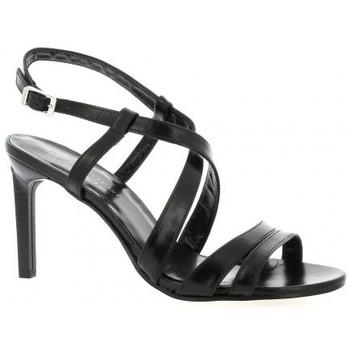 Chaussures Femme Sandales et Nu-pieds Elizabeth Stuart Nu pieds cuir Noir