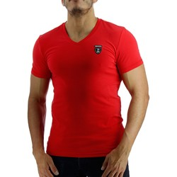 Vêtements Homme T-shirts & Polos Redskins Tee-shirt  Skyfall Calder (Corail) Rouge