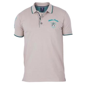 Vêtements Homme Polos manches courtes Shilton Polo Rugby Championship Beige