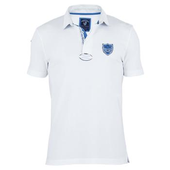 Vêtements Homme Polos manches courtes Shilton Polo Rugby Blason Blanc