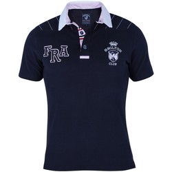 Vêtements Homme Polos manches courtes Shilton Polo Rugby FRA Navy