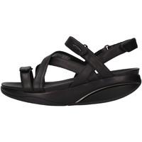 Chaussures Femme Sandales et Nu-pieds Mbt KIBBL  Femme Noir Noir