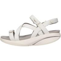 Chaussures Femme Sandales et Nu-pieds Mbt KIBWH  Femme Blanc Blanc