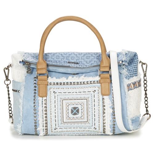 Sacs Femme Sacs porté main Desigual LOVERTY WHITNEY Bleu