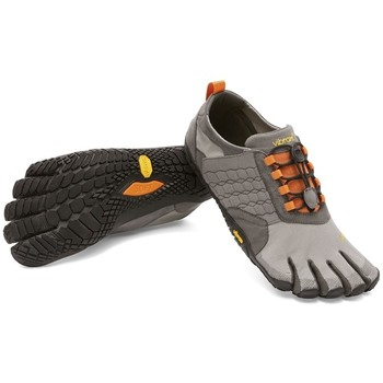 Chaussures Homme Running / trail Vibram Fivefingers Trek Ascent 15M4702 Gris Orange Homme Gris