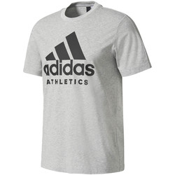 Vêtements Homme T-shirts manches courtes adidas Originals T-shirt Sport Id Branded gris