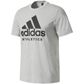 Vêtements Homme T-shirts manches courtes adidas Performance T-shirt  Sport Id Branded gris