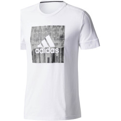 Vêtements Homme T-shirts manches courtes adidas Performance T-shirt  Id Flash blanc