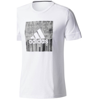 Vêtements Homme T-shirts manches courtes adidas Originals T-shirt  Id Flash Blanc H blanc