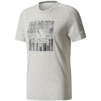 Vêtements Homme T-shirts manches courtes adidas Performance T-shirt Id Flash gris