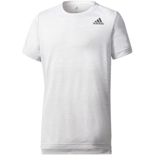 Vêtements Enfant T-shirts manches courtes adidas Performance T-shirt  Tr Grad blanc
