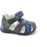 Chaussures Enfant Sandales et Nu-pieds Grunland Grünland ORAN bleu PP0179 fermé sandales orteil chaussures bébé Blu