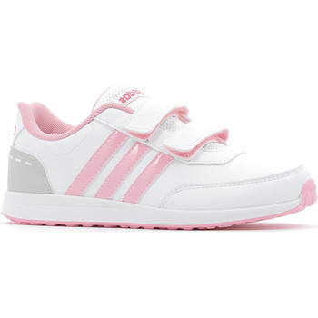 Chaussures Fille Baskets basses adidas Performance VS Switch 2.0 CMF C White / Pink
