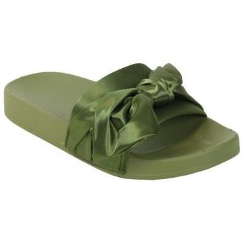 Chaussures Femme Sandales et Nu-pieds Kebello Tong 20129 vert