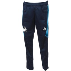 Vêtements Garçon Pantalons de survêtement adidas Originals Om pantalon 17/18jr Bleu marine / bleu nuit